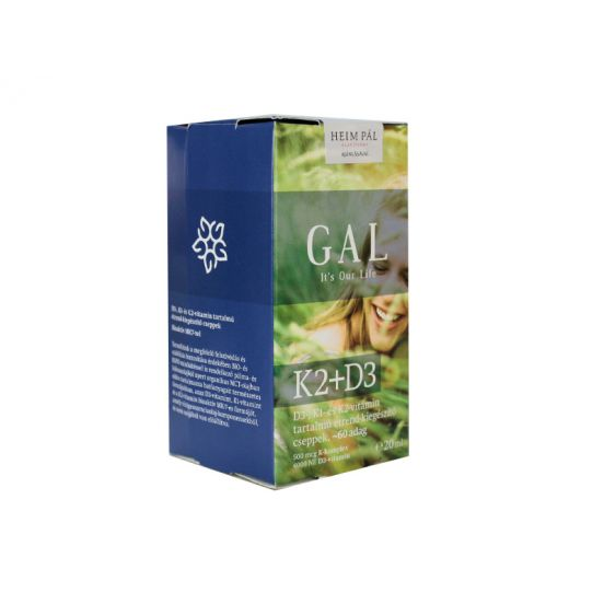 GAL K2+D3 VITAMIN CSEPP 20ML GAL K2+D3 VITAMIN CSEPP 20ML