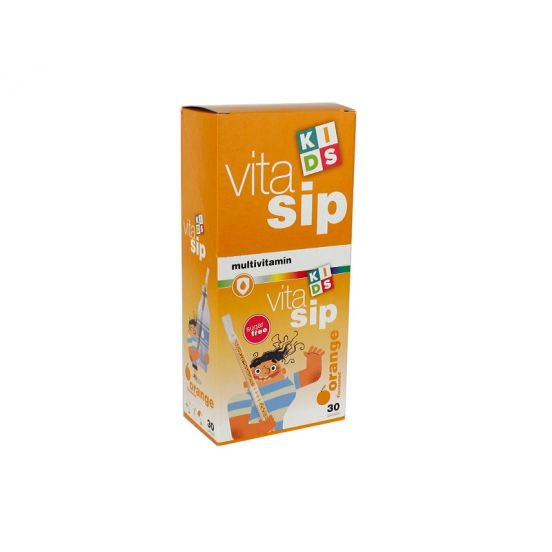 VITASIP ORANGE FLAVOURED MULTIVITAMIN 30DB VITASIP ORANGE FLAVOURED MULTIVITAMIN 30DB