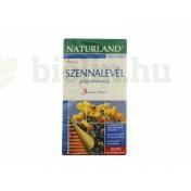 NATURLAND TEA SZENNALEVÉL FILTERES 25DB