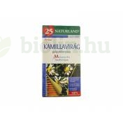 NATURLAND TEA KAMILLAVIRÁG FILTERES 25DB