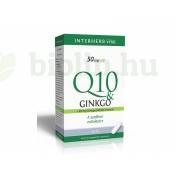 INTERHERB Q10&GINKGO KAPSZULA 30DB