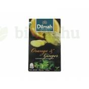 DILMAH TEA ORANGE&GINGER AROMÁS FEKETE 30G