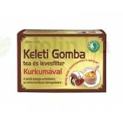 DR.CHEN KELETI GOMBA TEA ÉS LEVESFILTER KURKUMÁVAL 20DB
