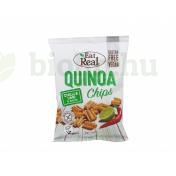 GLUTÉNMENTES EAT REAL QUINOA CHIPS CHILIS ÉS LIMEOS  30G