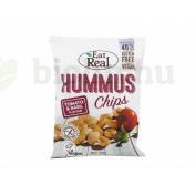 EAT REAL HUMMUS CHIPS PARADICSOM ÉS BAZSALIKOMOS 45G