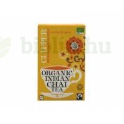 BIO CLIPPER FAIRTRADE INDIAN CHAI FEKETE TEA  20DB