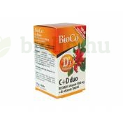 BIOCO C-D VITAMIN DUO TABLETTA 100DB