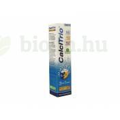 CALCITRIO 3IN1 KALCIUM-K2-VITAMINT-D3-VITAMINT TARTALMAZÓ NARANCSÍZŰ PEZSGŐTABLETTA 20DB