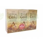 2DB CRYSTAL GOLD NATUR POWER 500ML+1DB CRYSTAL GOLD NATUR POWER 500ML AJÁNDÉK