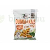 GLUTÉNMENTES EAT REAL QUINOA ÉS FODROS KEL PUFFS JALAPENO CHEDDAR SAJTOS 40G