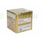 EVELINE GOLD LIFT EXPERT 50+ LUXUS TÁPLÁLÓ KRÉM-SZÉRUM NAPPALI-ÉJSZAKAI ARCKRÉM 50ML