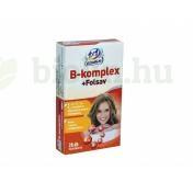 1X1 VITAMIN B-KOMPLEX+FOLSAV TABLETTA 28DB