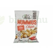 GLUTÉNMENTES EAT REAL HUMMUS CHIPS - CHILIS SAJTOS 45G