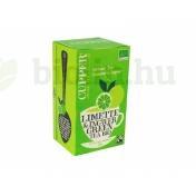 BIO CUPPER ORGANIC GREEN TEA LIME-GINGER   20DB