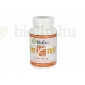 BIOHEAL RUTIN 20MG HOZZÁADOTT C-VITAMINNAL 70DB